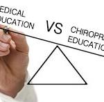 Medical education vs chiropractic educations